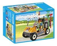 Playmobil City Life 6636 Soigneur animalier avec véhicule-Avant
