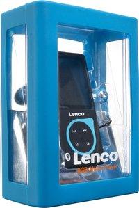Lenco lecteur MP4 Xemio-767 BT 8 Go noir/bleu
