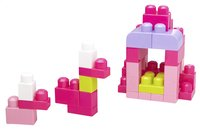 Mega Bloks First Builders Sac de blocs rose-Détail de l'article