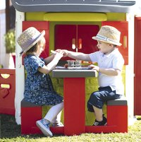 Smoby uitbreiding voor speelhuisjes Neo Jura Lodge, My Neo House en Chef House - Picknicktafel-Afbeelding 2