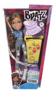 Bratz mannequinpop Hello My Name Is Yasmin-Vooraanzicht