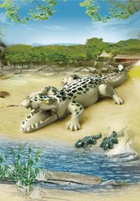 Playmobil City Life 6644 Alligator avec bébés-Image 1