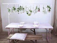 Pince de fixation pour table blanc-commercieel beeld