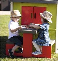 Smoby uitbreiding voor speelhuisjes Neo Jura Lodge, My Neo House en Chef House - Picknicktafel-Afbeelding 3