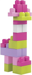 Mega Bloks First Builders Big Building Bag roze - 60 stuks-Artikeldetail