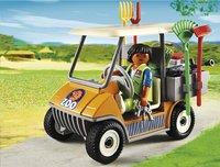 Playmobil City Life 6636 Soigneur animalier avec véhicule-Image 1