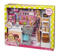 Barbie speelset Supermarkt-Linkerzijde