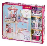 Barbie speelset Huis met 3 poppen-Rechterzijde