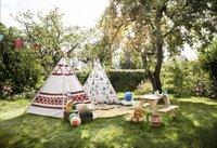 Pinolino table de pique-nique pour enfants Nicki naturel-Image 3