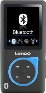 Lenco lecteur MP4 Xemio-767 BT 8 Go noir/bleu-Avant