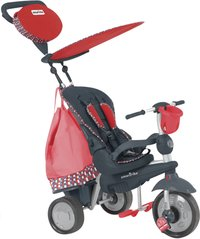smarTrike tricycle Splash noir/rouge-Avant