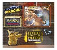 Pokémon JCC Détective Pikachu Dossier Dracaufeu-GX-Avant