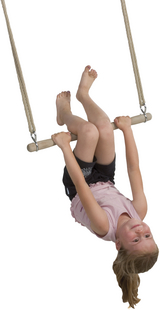 Houten trapeze-Afbeelding 1
