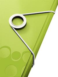 Leitz elastomap WOW A4 groen-Artikeldetail