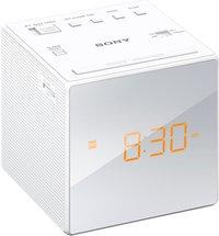Sony radio-réveil ICF-C1 blanc