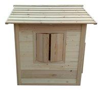 AXI houten speelhuisje Britt-Linkerzijde
