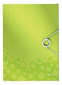 Leitz elastomap WOW A4 groen-Vooraanzicht