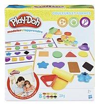 Play-Doh modeler et apprendre Couleurs et Formes