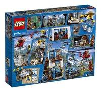 LEGO City 60174 Politiekantoor op de berg-Achteraanzicht