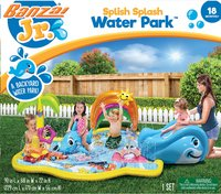 Banzai Jr. aire de jeu gonflable Splish Splash Water Park-Avant