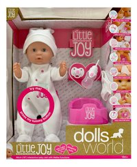 Dolls World interactieve pop Little Joy wit-Vooraanzicht