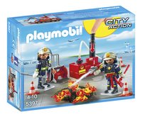 Playmobil City Action 5397 Brandweermannen met blusmateriaal