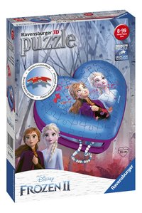 Ravensburger 3D-puzzel Girly Girl Disney Frozen II Hartendoosje-Linkerzijde