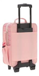 Lässig valise souple Flamant rose 46 cm-Arrière