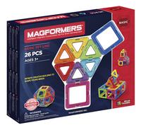 Magformers Basic Set Line 26 pièces-Côté gauche