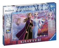 Ravensburger puzzel Disney Frozen II Glitter-Linkerzijde