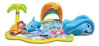 Banzai Jr. opblaasbaar speelcenter Splish Splash Water Park-commercieel beeld