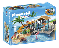 PLAYMOBIL Family Fun 6979 Île avec vacanciers-Avant