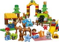 LEGO DUPLO 10584 Het dierenpark-Vooraanzicht
