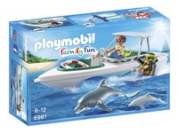 Playmobil Family Fun 6981 Duiktrip met plezierboot