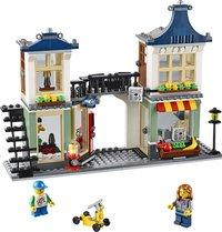 LEGO Creator 31036 Le magasin de jouets et l'épicerie-Avant
