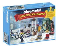 Playmobil Christmas 9007 Calendrier de l'Avent Policier et cambrioleur-Avant