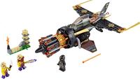 LEGO Ninjago 70747 Le jet multi-missiles-Avant