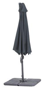 Parasol suspendu en aluminium Ø 3 m gris-Détail de l'article