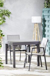 Ensemble de jardin Modulo/Bondi anthracite - 2 chaises-Image 1
