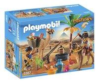 Playmobil History 5387 Pilleurs égyptiens avec trésor