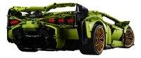 LEGO Technic 42115 Lamborghini Sián FKP 37-Achteraanzicht