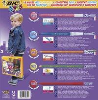 Bic kleurset Coloring Box - 70 stuks-Achteraanzicht