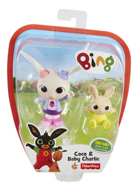 Fisher-Price figurine Bing Coco & Baby Charlie