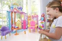 Barbie Dreamtopia Château avec poupée et chiot-Image 1