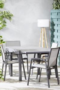 Ensemble de jardin Modulo/Bondi anthracite - 2 chaises-Image 2