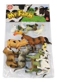 Les animaux de la ferme - 12 pièces-Avant