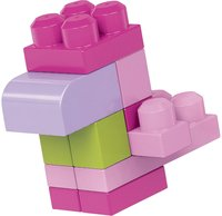 Mega Bloks First Builders Sac de blocs rose-Image 2