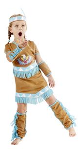DreamLand déguisement d'indienne taille 164-Image 1