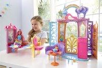 Barbie Dreamtopia Château avec poupée et chiot-Image 3