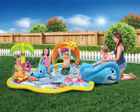 Banzai Jr. aire de jeu gonflable Splish Splash Water Park-Image 1